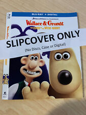 * Slipcover Only* Wallace & Gromit Curse of Were-Rabbit (Dreamworks) Blu-ray