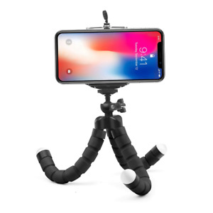 Flexible Sponge Octopus Tripod for iPhone Samsung & All Smartphones & Gopro