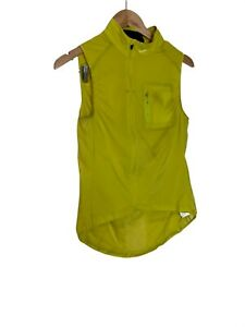 Rapha Yellow Womens Cycling Jersey Top S