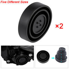Seal Cap Dust Cover 5 Sizes for Car Headlight HID LED light Lamp Kit  Universal