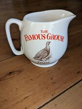 THE FAMOUS GROUSE. FINEST SCOTCH WHISKY. WATER JUG. WADE. ENGLAND. VINTAGE