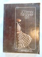 vintage catalog JCPENNEY JC PENNEY PENNEYS 1978 fall winter