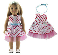 18 inch girl fashion princess dress doll clothes for american doll girl