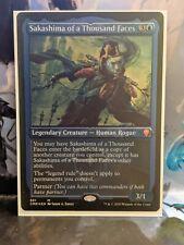 Etched Foil Sakashima of a Thousand Faces | Commander Legends | NM/M | MTG