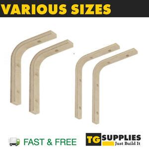 Wooden Plywood Shelf Supports Brackets Beech Timber Shelf Bracket Support Natura