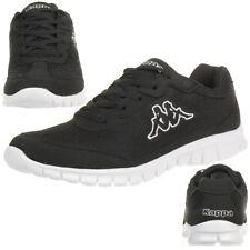 Kappa Rocket Sneaker unisex schwarz weiß Turnschuhe Schuhe 242130/1110