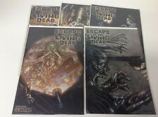 ESCAPE OF THE LIVING DEAD #1-5 (AVATAR/GEORGE ROMERO/0218241) COMPLETE SET OF 5