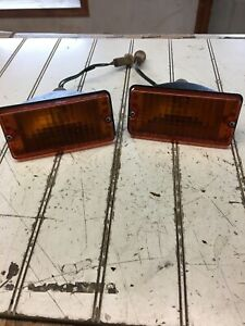 80 Datsun 210 Left/right Lights From Grille