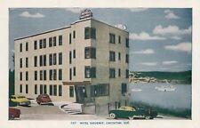 Hotel Saguenay CHICOUTIMI Quebec Canada 1940-50s Lorenzo Audet Postcard