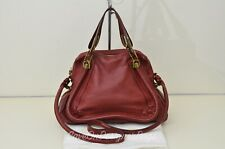 GentlyUsed Chloe Paraty 2Way Satchel Handbag Shoulder Bag Authentic w/ Dustbag