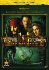 Pirates of Caribbean: Dead Man's Chest [New DVD] With Blu-Ray, Amaray Case