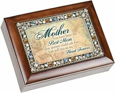 """You Have Been the Best Mom Jeweled Lid Music Box """"Wind Beneath My Wings"""""""