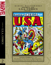 Golden Age U.S.A. Comics Volume 2 Marvel Masterworks Hc Hard Cover New Sealed