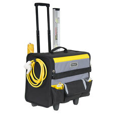 "Stanley STA197515 18"" Soft Tool Bag On Wheels Wheeled Storage Case 1-97-515 New"