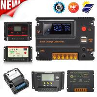 3A~30A 12V~24V PWM LCD SCD MPPT Solar Panel Battery Charger Controller Regulator
