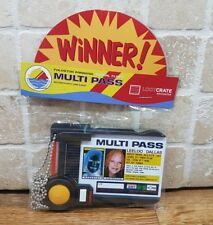 The Fifth Element MULTI PASS Leeloo Dallas ID REPLICA Movie Prop Loot Crate NEW