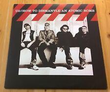 U2 ~ comment démanteler une bombe atomique ~ 2XLP ORIG 2004 uk island U 214/986-2 EX +