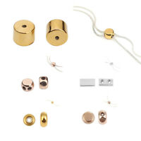 Adjustable Copper Slider Clasp Beads Teething Necklace Core Jewelry Accessories