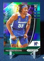2020-21 Prizm Draft Picks Precious Achiuwa RC Rookie #48 Green Prizm Refractor