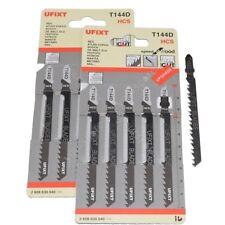 Jigsaw Blades T144D For High Speed Wood Cutting HCS 10 Pack Fits Black & Decker