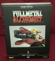 BOX DVD ANIME/MANGA-FULL METAL ALCHEMIST DELUXE EDITION 1 + REGALO 3 SFIDA EWARD