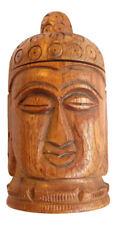 Large Wood Buddha Tough Tobacco Herb Spice 2 Piece Grinder BUY 2 GET 1 FREE!!!