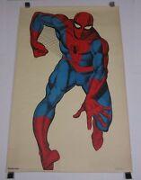 Original 1966 Marvel 42 x 26 1/2 Amazing Spider-man poster:1960's/MOREINOURSTORE