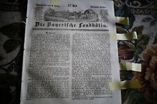 1844 Landbötin 30 / Kissingen Straubing Arad Elsaß Georgien
