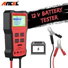 Ancel 12V Car Battery Tester System Diagnostic Analyzer Vehicle Load Tester Tool