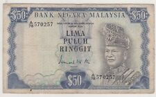 A/78 570257 3rd Series RM50 Ismail Ali Malaysia