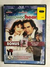 Borrowed Hearts (DVD, 2010, DVD/CD) BRAND NEW, Roma Downey, Christmas, Drama