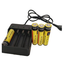 Neueste 1/2/3/4 x 18650 li-ionen Akkus Batterien Ladegerät Schnell Duales Laden