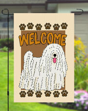 Puli Welcome Dog Garden Banner Flag 11x14 to 12x18 Pet Yard Decor Breed