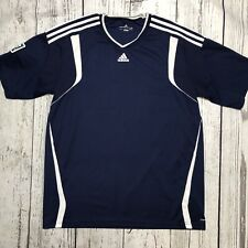 Adidas MLS Men's Soccer Jersey Size XL Blue and White    1829