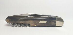 Vintage Taschenmesser 110mm Peter Klein Solingen  Horn Griff -Gut erhaltet
