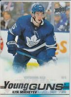 Ilya Mikheyev Maple Leafs 2019-20 Upper Deck Young Guns Clear Cut Card #210