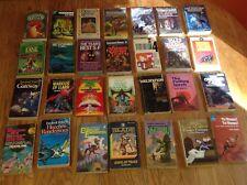 Lot of 37 Vintage Science Fiction Paperback Novels 1952-1987