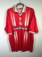 VINTAGE 1998-1999 Middlesborough FC Jersey Errea mens football soccer size 2XL