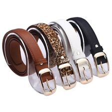 New Women Belt Waist Strap Faux Leather Pin Buckle Waistband Fashion Accessories