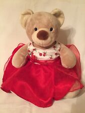 Build-A-Bear with Red Dress