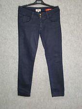 Met Jeans Donna Pantaloni elasticizzati Denim Blu Scuro Taglia 31 (veste 44-46)