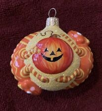 New listing 2008 Patricia Breen Halloween Once Again For James Jack-O-Lantern Yellow Mint