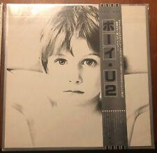 U2 BOY JAPAN TOSHIBA LP VINYL (obi xerox)