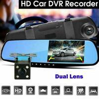 4,3 'Dual Lens HD 1080P Auto DVR Rückspiegel Kamera Nett Cam Video Dash