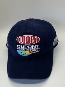 Jeff Gordon Dupont Racing Fitted 7 1/4 Baseball Hat Cap Blue Nascar 24 Hendrick
