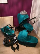 Mamas and Papas Armadillo Full Travel System in Teal Green