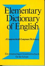 Langenscheidt - Elementary Dictionary of English