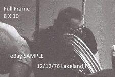 Kiss 1976 Ace Frehley 8 X 10 Photo 4 Lakeland,FL Shock Me
