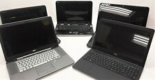 Dell Laptop Mixed Parts and Repair Lot of 5 (See Detailed Description)