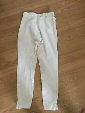 Pantalon  equitation Blanc Competition PERFORMANCE T36/38- BE